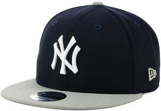 New Era New York Yankees Side Stated Gold 9FIFTY Snapback Cap