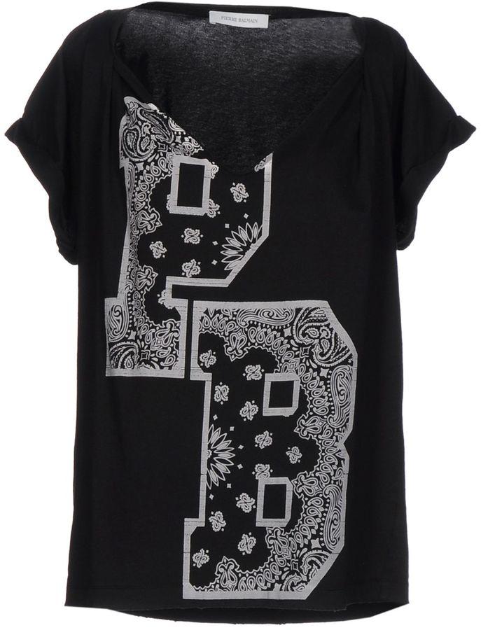 BalmainPIERRE BALMAIN T-shirts