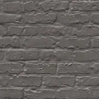 Walls Republic Faux Industrial Chic 32.97' x 20.8 Brick Wallpaper Roll