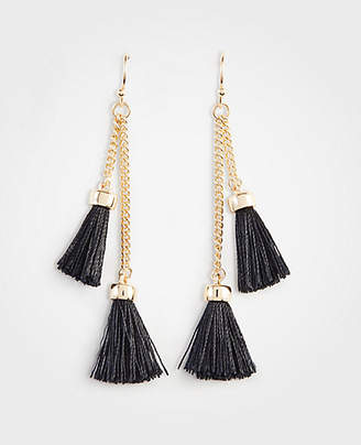 Ann Taylor Tassel Chain Earrings