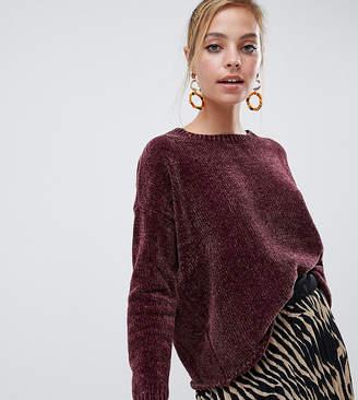 Vero Moda Petite Chenille Knitted Sweater