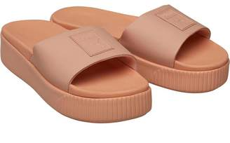 427695acf333 Puma Womens Platform Slide Sandals Dusty Coral
