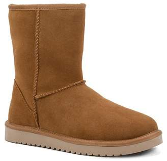 Koolaburra BY UGG Classic Short Genuine Sheepskin & Faux Fur Lined Boot Boot (Women)