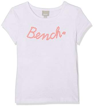 Bench Girl's Logo Tee T-Shirt, (Ice Green Gr11495), (Size: 5-6)