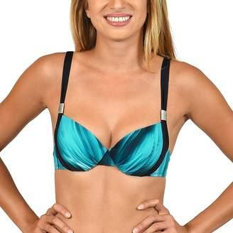 c752abcc22ce9 Lisca - Blue  Jakarta  Foam Cup Bikini Top