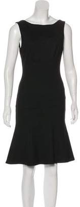 Rochas Sleeveless A-Line Dress