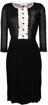 Blugirl contrast shift dress