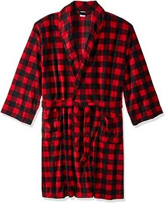 Fruit of the Loom Men's Microfleece Robe