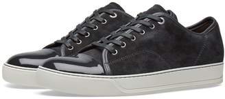 Lanvin Patent Toe Cap Sneaker