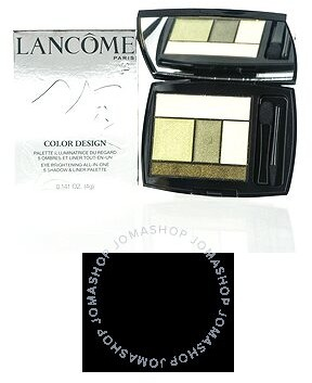 Lancome / Color Design 5 Shadow & Liner Palette 500 Jade Fever .141 oz