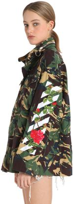 M65 Embroidered Camo Canvas Field Jacket $1,922 thestylecure.com