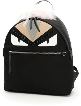 Fendi Bag Bugs Backpack With Fur