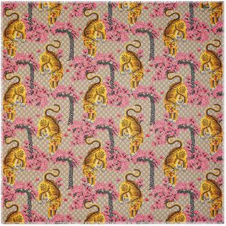 Gucci Bengal modal silk shawl $420 thestylecure.com