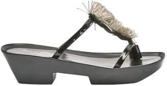 Robert Clergerie Black Patent leather Sandals