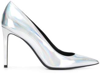 Balmain metallic pointed pumps