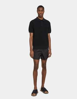 Acne Studios Perry Nylon Swim Trunks in Black