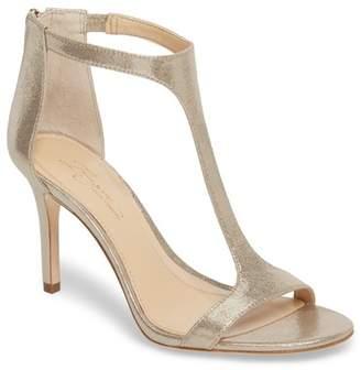 Vince Camuto Imagine Phoebe Embellished Leather T-Strap Sandal