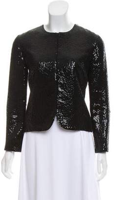 Chloé Sequined Long Sleeve Jacket