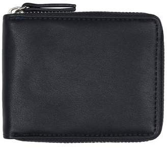 Topman Mens Navy Silver Zip Around Wallet