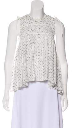 Ulla Johnson Printed Sleeveless Top
