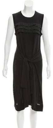 Sonia Rykiel Sonia by Ruffle-Trimmed Midi Dress