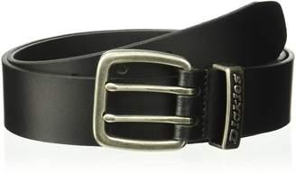 Dickies Men's 35mm Genuine Leather Belt