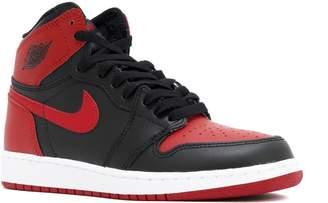 Nike Jordan Kids Air Jordan 1 Retro High OG Bg Black/White Black Unvrsty Red Basketball Shoe Kids US