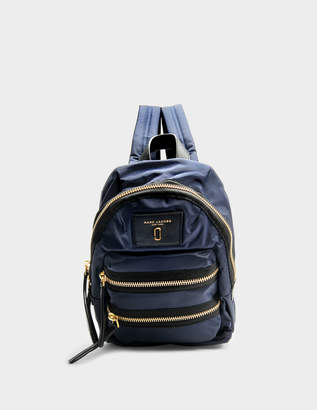 Marc Jacobs Nylon Biker Mini Backpack in Midnight Blue Nylon