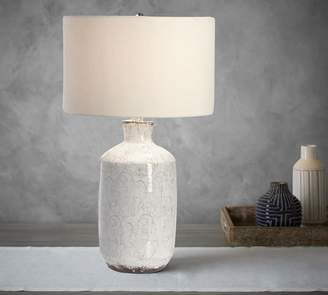 Pottery Barn Jamie Young Bethany Ceramic Column Table Lamp