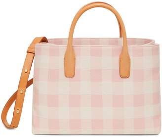 Mansur Gavriel Checker Mini Folded Bag