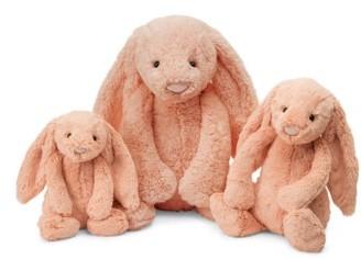 Infant Jellycat Medium Bashful Bunny Stuffed Animal $22.50 thestylecure.com