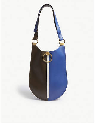 Marni Earring leather shoulder bag