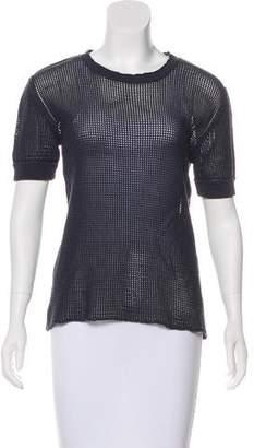 Dolce & Gabbana Short Sleeve Knit Top