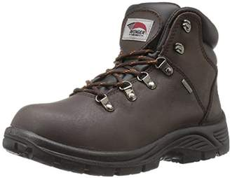 Avenger Safety Footwear Avenger 7625 Mens Leather Waterproof Soft Toe EH Work Boot Industrial & Construction Shoe