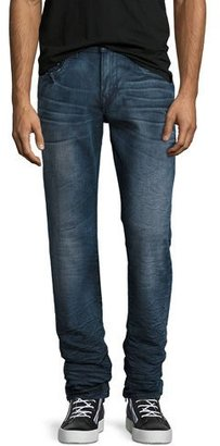 True Religion Geno Flap-Pocket Straight-Leg Jeans, Clouds $199 thestylecure.com