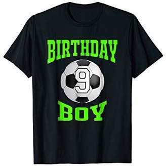 9th Birthday Boy Shirt