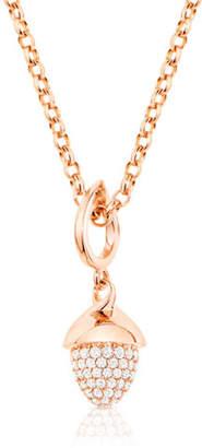 Tamara Comolli Mikado Flamenco 18K Rose Gold Diamond Pendant