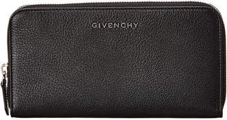 Givenchy Pandora Leather Zip-Around Wallet