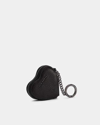 Ted Baker KAHI Heart leather coin purse keyring