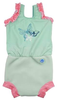 Splash About International Happy Nappy Diaper Swimsuit Dragonfly X Large 12-24 Months