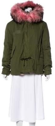 Mr & Mrs Italy Fur-Trimmed Parka Jacket
