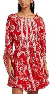 Pool' MANNING CARTELL Women's Pool Party Floral Silk Minidress