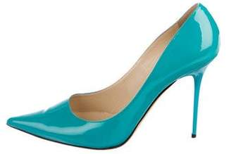 Jimmy Choo Patent Leather Pointed-Toe Pumps