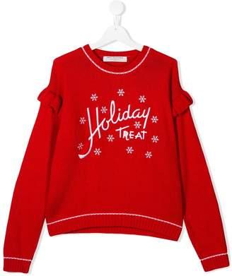 Philosophy di Lorenzo Serafini Kids Holiday Treat sweater