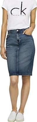 Calvin Klein Jeans Women's Women's Denim Pencil Skirt