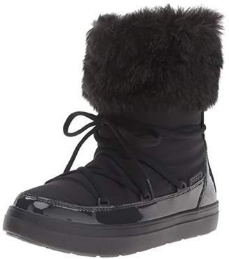 crocs Women's Lodge Point Lace Snow Boot $15.12 thestylecure.com