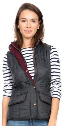 Barbour Barbour® Navy Cavalry Quilted Gilet $91 thestylecure.com