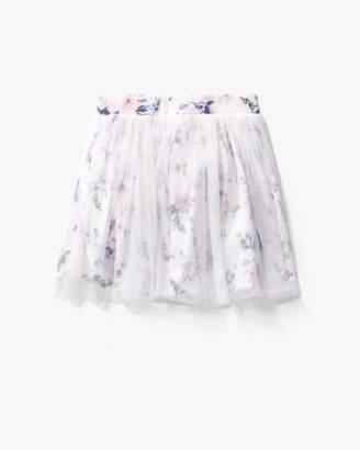 Splendid Baby Girl Floral Print Tutu Skirt