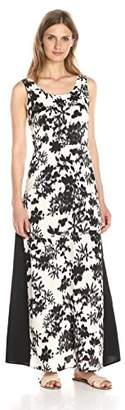 Lark & Ro Women's Sleeveless Printed Maxi Dress
