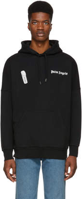Palm Angels Black New Basic Hoodie